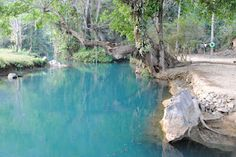 Blue Lagoon at Luang Prabang. I've been to the cave as well.