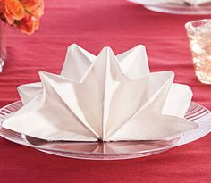 Table Napkin Folding Ideas, Instruction & Techniques | Chinet | MyChinet.com