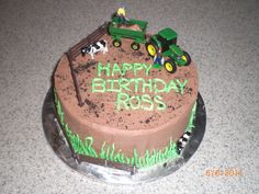 John Deer Farm Cake