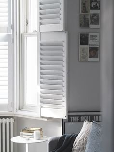 #cshhouserefurb: Wooden Window Shutters From Hillarys