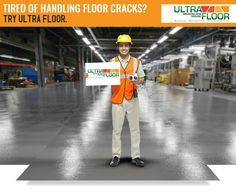Tired of handling cracks in your floors? For and floors opt for Go Industrial Flooring, Tired, Floors, Home Tiles, Flats, Im Tired, Floor, Flooring