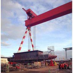 MSC Meraviglia's construction is ready to go at STX shipyard of Saint Nazaire!