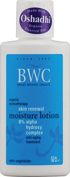Beauty Without Cruelty Moisturizing Lotion Skin Renewal