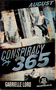 August by Gabrielle Lord Conspiracy 365 series young adult used paperback 1st ed