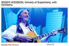 Be sure to also visit the Tour page on Roger's site at http://www.rogerhodgson.com/documents/tour.html.