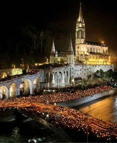 Lourdes, França.