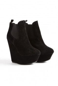 Wedge riding boots || FireHosiery - Leaders in Legwear Fashion - firehosiery.com