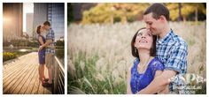 Michelle and John's engagement session! Location: Discovery Green, Houston, TX   |www.snaptacularphotos.com|
