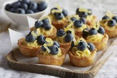 Nothing beats homemade lemon curd and puff pastry cups topped with Driscoll's blueberries for a perfect sweet-tart dessert. Pastry Cup Recipe, Pastry Recipes, Blueberry Recipes, Lemon Recipes, Jar Recipes, Blueberry Cake, Lemon Desserts, Healthy Recipes, Pastry Shells
