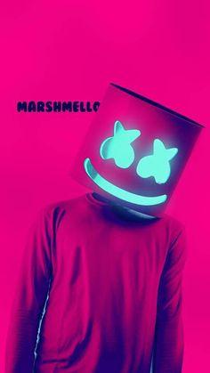 Marshmello by twila Musik Wallpaper, Screen Wallpaper, Mobile Wallpaper, Wallpaper Backgrounds, Iphone Wallpaper, Electro Music, Dj Music, Gaming Wallpapers, Cute Wallpapers
