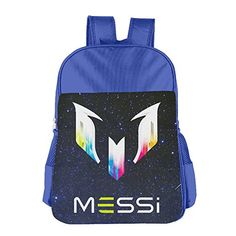STALISHING Kids Best Soccer Player Messi Logo School Bag Backpack *** Find out more about the great product at the image link.Note:It is affiliate link to Amazon.