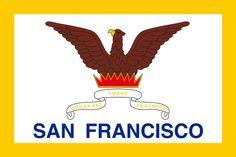 Flag of San Francisco, California