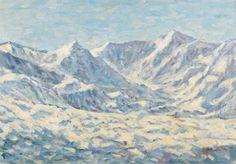 Dirk Smorenberg (1883-1960) | A mountainous landscape | 20th Century, Paintings | Christie's