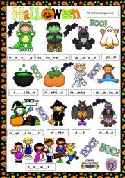 halloween for esl