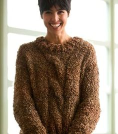 Essential Knitted Sweater Patterns from Lion Brand from @AllFreeKnitting