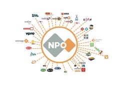NPO is de overkoepelende organisatie. Alle omroepen vallen hier onder.