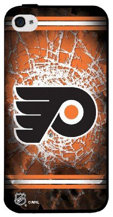 NHL Philadelphia Flyers Iphone 4 or 4s Hard Cover Case: