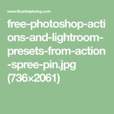free-photoshop-actions-and-lightroom-presets-from-action-spree-pin.jpg (736×2061)