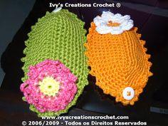 Crochê Tricô: Sachês em Crochê