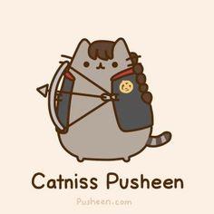 The Hunger Games: Catniss Pusheen