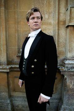 "Ed Speleers plays footman Jimmy Kent in the third season of ""Downton Abbey."""