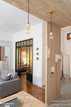 Une cuisine ouverte dans un appartement lyonnais - PLANETE DECO a homes world - to do at home Modern Home Interior Design, Home Interior Design, House Styles, House Design, Interior Deco, Modern Houses Interior, Appartment Decor, House Interior, Home Deco