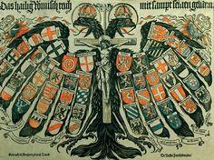 Double headed eagle of the Holy Roman Empire 1800's