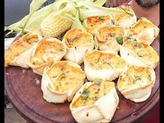 Canastitas de humita y calabaza - Recetas – Cocineros Argentinos