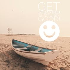 Get stranded in *feeling* good... #getstrandedinfeelinggood #motivational #quotes #stranded #boat #beach #positivity by www.willisawareness.com