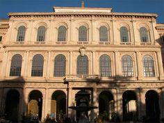Řím (1625 -1633) – Carlo Maderna, od 1629 střední část stavěl Bernini Notre Dame, Louvre, It Cast, Building, Travel, Buildings, Viajes, Traveling, Tourism