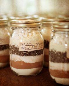 Festive wintry & New Year's Eve wedding favor ideas - Wedding Party