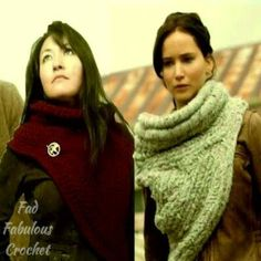 FAD FABULOUS CROCHET: Katniss Cowl Sweater Pattern!