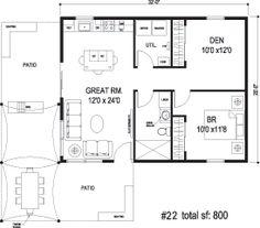 Potential to replace studio.  Sidekick Homes - Pavillion 2