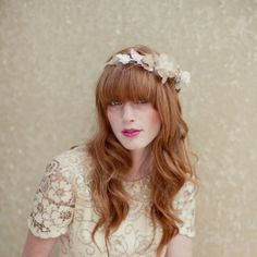Want a fringe for your big day? Get this chic wedding hair http://www.hothair.co.uk/Clip-In-Fringes/