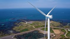 Hyundai Heavy Industries Co. Ltd. (HHI) has completed the installation of its 5.5 MW offshore wind turbine prototype at the Kimnyeong Wind Farm, located on Jeju Island in South Korea.  Director by Manchul Kim www.manchulkim.com