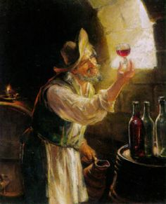 In Old World wine making, the role of the winemaker is minimized compared to New World wine making.