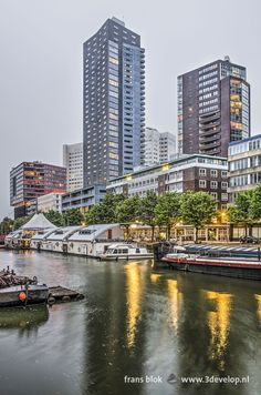 Rotterdam, Netherlands, New York Skyline, Cities, My Photos, Places To Visit, Europe, Urban, Country