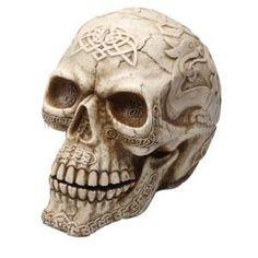 Large Celtic Skull