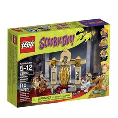 Official LEGO Scooby Doo images - Mummy Museum Mystery