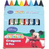 Mickey Mouse Crayons 8ct - Party City