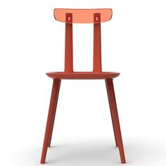 Eugeni Quitllet joins plexiglass backrests to Tabu chairs for Alias