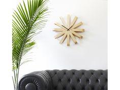 ΡΟΛΟΙ ΤΟΙΧΟΥ RIBBONWOOD Unique Wall Clocks, Wall Decor, Bending, Curves, Wood, Classic, Nature, Modern, Inspired