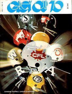 1970 Grey Cup program
