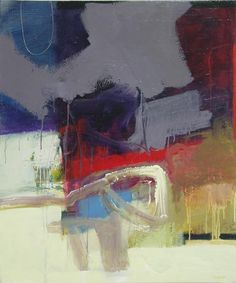 Bob Hunt  Underneath It All #1</b><br>Acrylic on Canvas, 36 x 30<br>Available