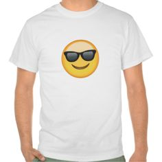 Smiling Face With Sunglasses Emoji T-shirts