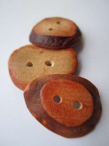 avocado pit buttons
