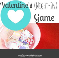 This FREE Valentine Card printable game has 30 Couples Questions & Dares that will make a date night-in fun and eye-opening!