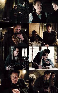 Hans....dear Hans...the one with golden character in an evil world. The Book Thief