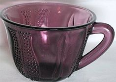 Amethyst Depression Glass is not one of the more common Depression Glass colors, but it is one that never fails to catch the eye of us purple lovers!    Amethyst Depression Glass