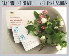 Review of Arbonne Skincare - my first impressions!